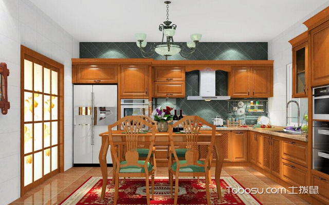 厨房和餐厅的隔断设计