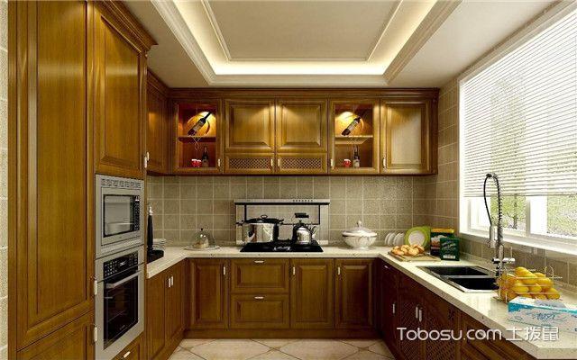 厨房装窗帘