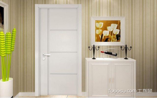 套装门安装图片