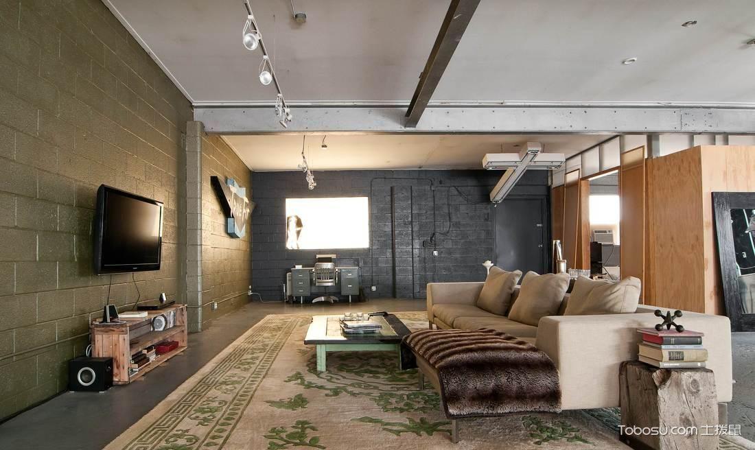 20平方客厅装修图片_土拨鼠装修经验