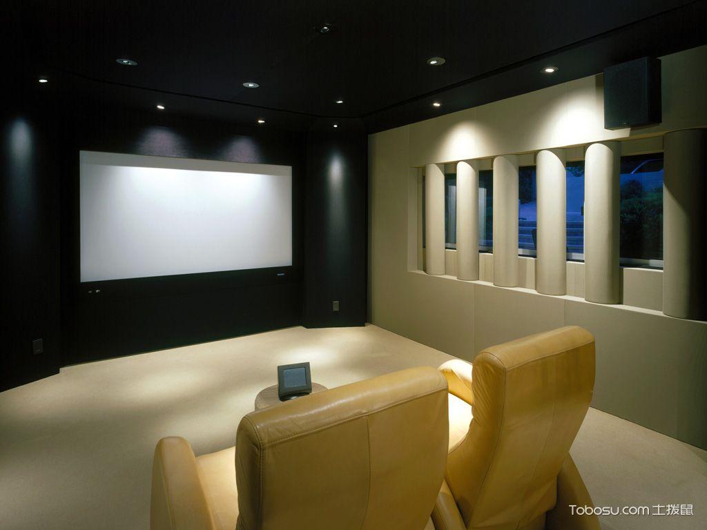 客厅家庭影院装修图片_土拨鼠装修经验