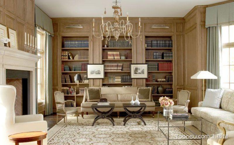 客厅美式风格家具介绍,材质造型皆有亮点