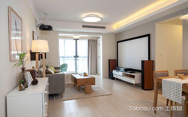 装修房子图片三室二厅—客厅设计