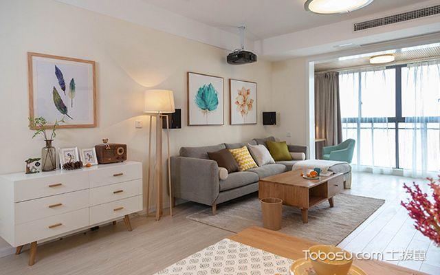 装修房子图片三室二厅—客厅装修