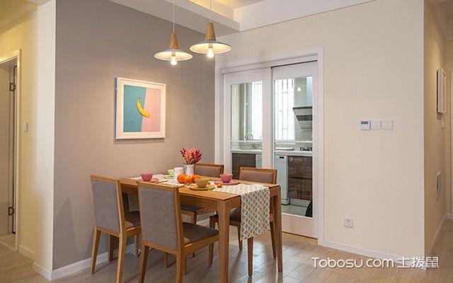 装修房子图片三室二厅—餐厅