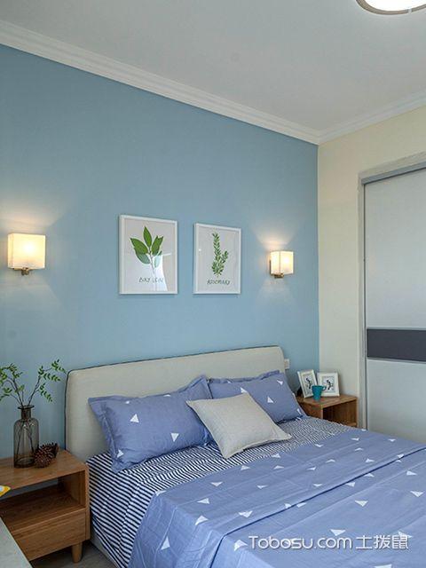 装修房子图片三室二厅—次卧