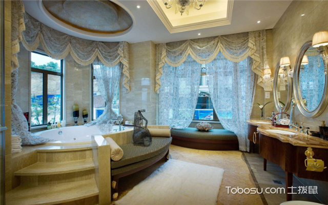 浴室装修设计效果图
