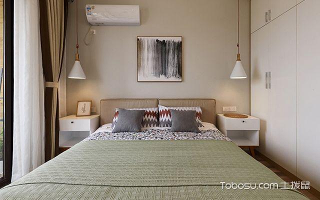 70平米两室一厅装修图卧室