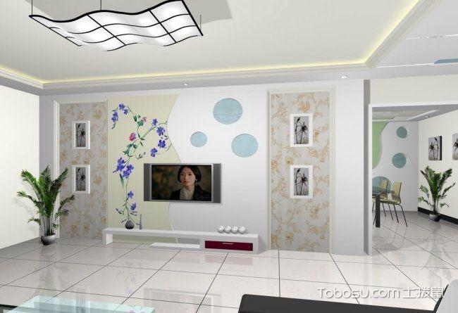 2018客厅装修电视墙设计,客厅影视墙效果图图片