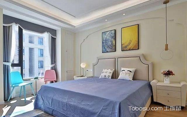 普通三室一厅装修图卧室