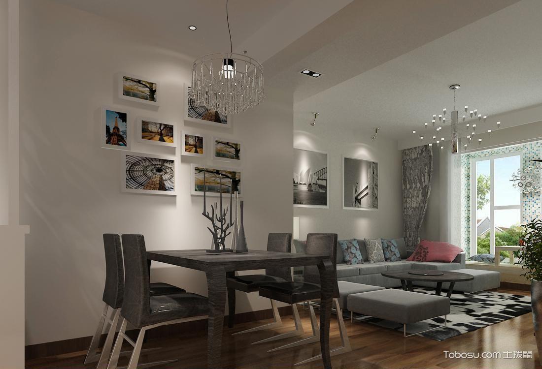 13平米客厅用餐区_土拨鼠装修经验