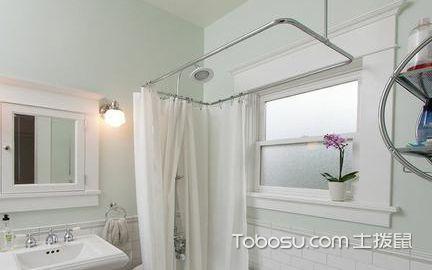浴帘杆选购方法