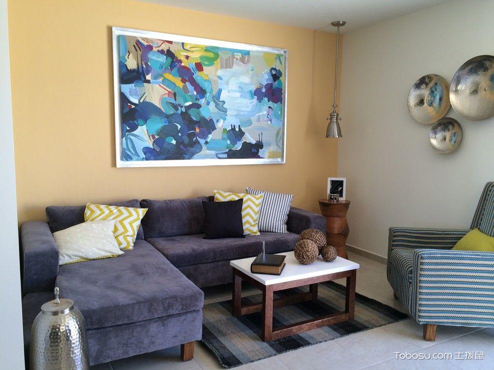 客厅墙面色彩_土拨鼠装修经验