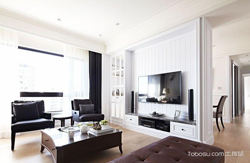 客厅墙面白色_土拨鼠装修经验