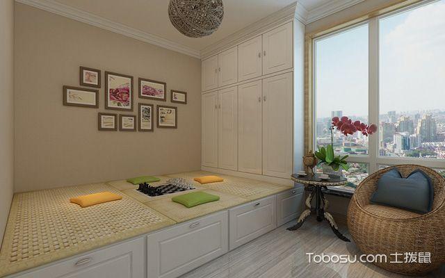 106平米中式装修风格 茶室