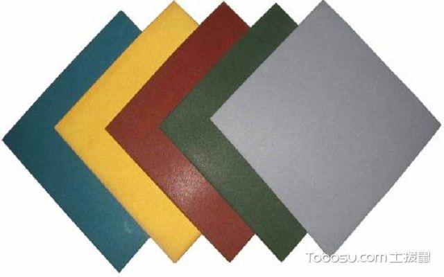 橡胶地砖怎么安装防滑