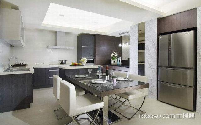 厨房餐厅一体如何设计