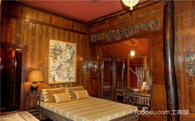 东南亚风格卧室装修案例