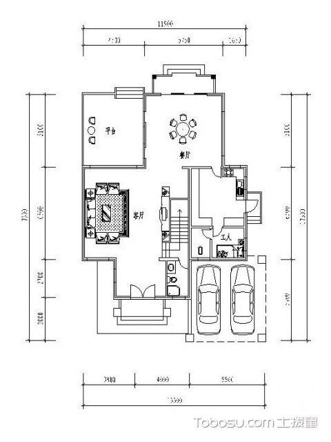 楼房设计图第一层