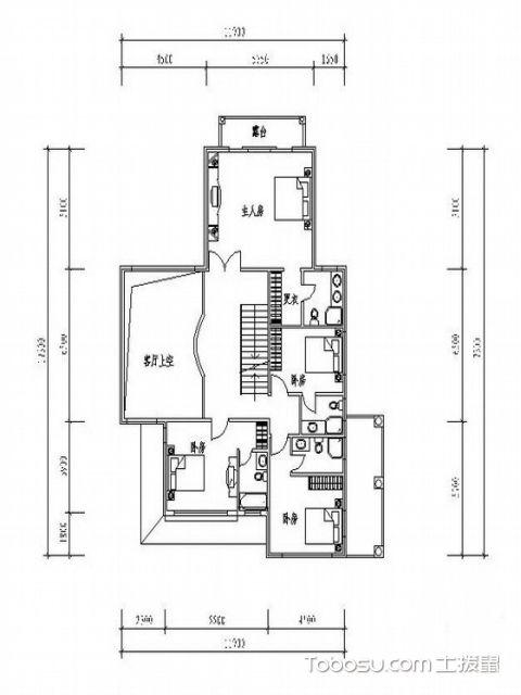 楼房设计图第二层