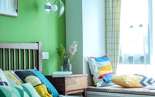 两室两厅90平装修图—卧室一角