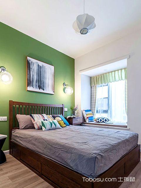 两室两厅90平装修图—卧室空间