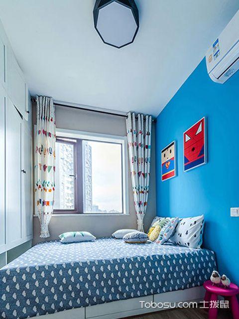 两室两厅90平装修图—儿童房
