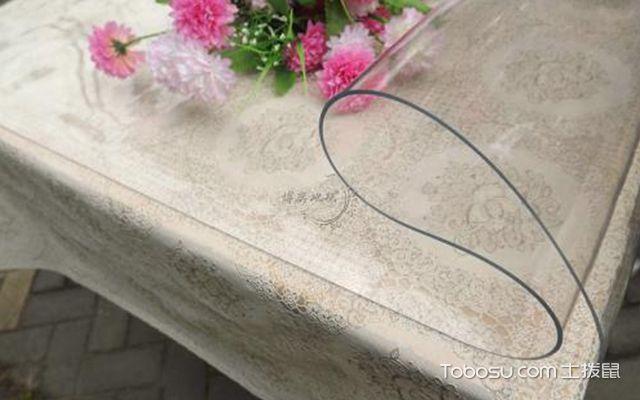 透明软玻璃桌布选购注意事项—桌布1