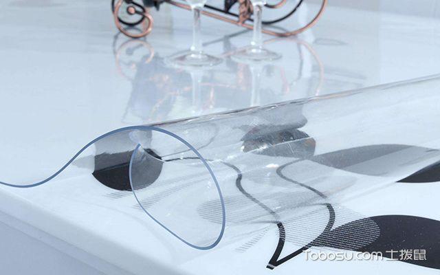 透明软玻璃桌布选购注意事项—桌布2