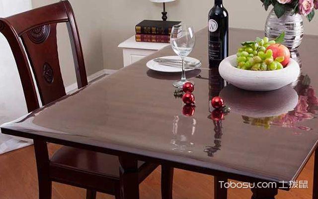 透明软玻璃桌布选购注意事项—桌布3