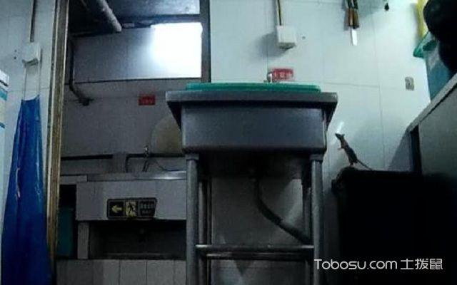 洗碗池下水管道安装图侧下水