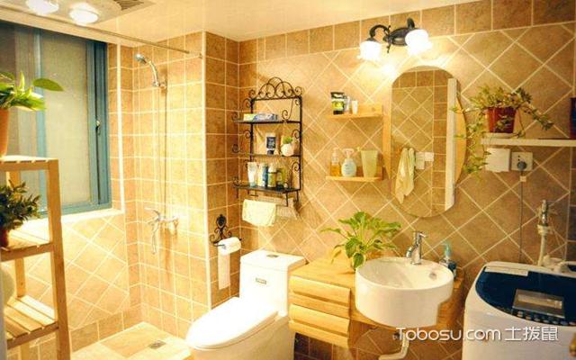 浴室装修效果图案例一
