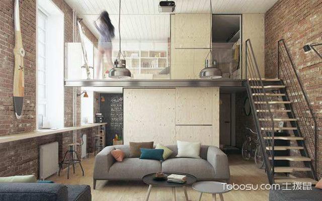 loft装修效果图案例二