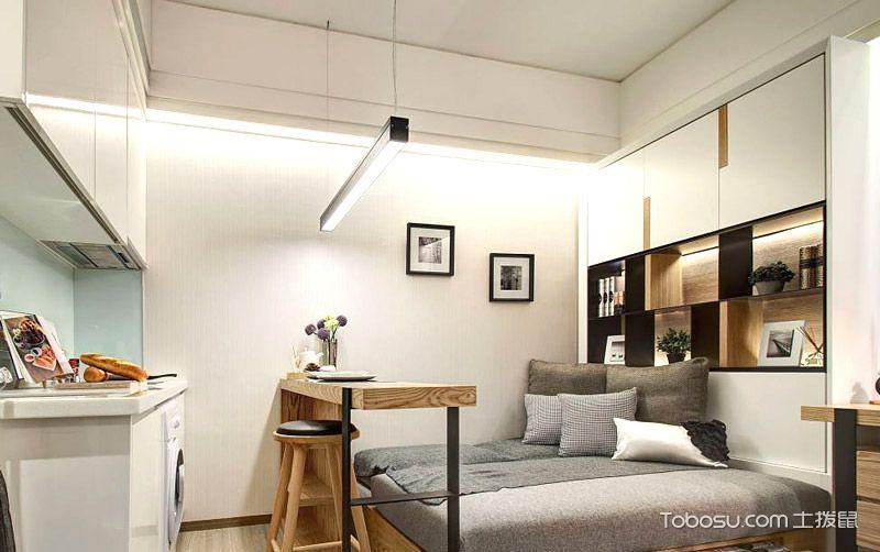单身公寓卧室榻榻米_土拨鼠装修经验