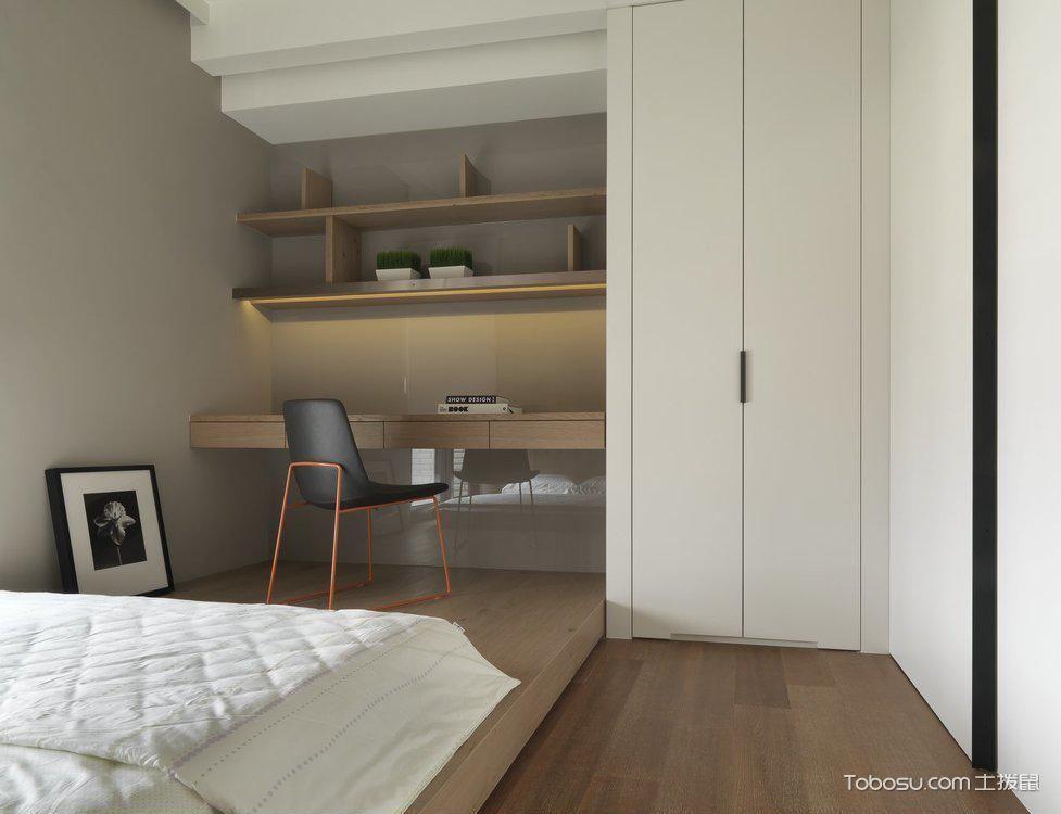 单身公寓卧室_土拨鼠装修经验