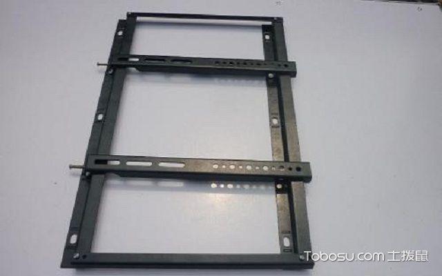 液晶电视挂架安装步骤图打孔