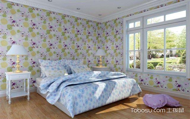卧室墙布贴什么颜色好,不同颜色