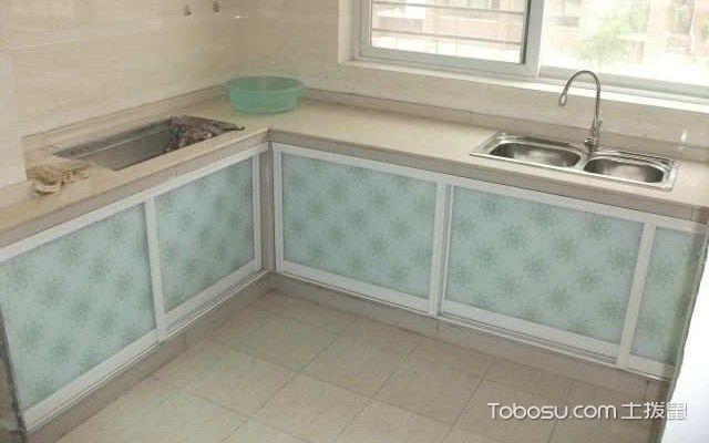瓷砖灶台装修效果图,施工设计要点