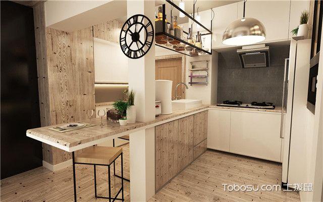 开放式厨房隔断设计