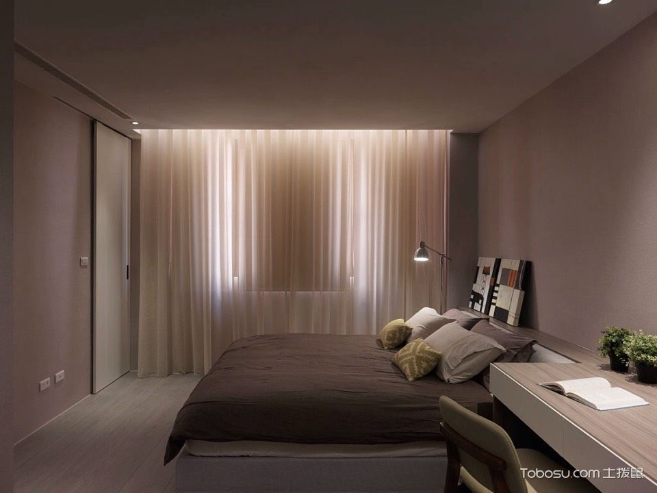 40平米小户型卧室_土拨鼠装修经验