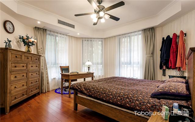圆形卧室装修方法