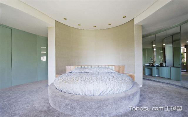 圆形卧室装修技巧
