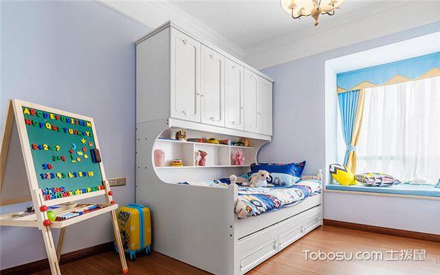 80平小户型儿童房装修
