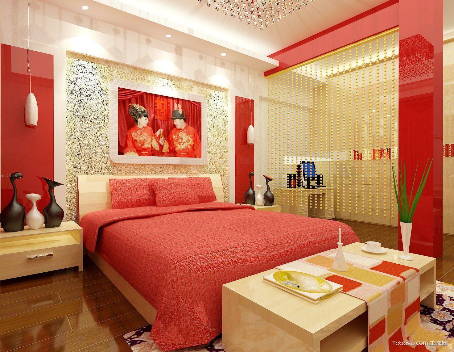 6平米婚房卧室装修效果图_土拨鼠装修经验