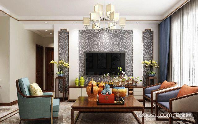 平房装修设计效果图客厅搭配