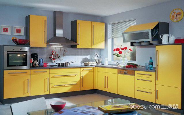 紧凑型厨房如何设计之色彩原则