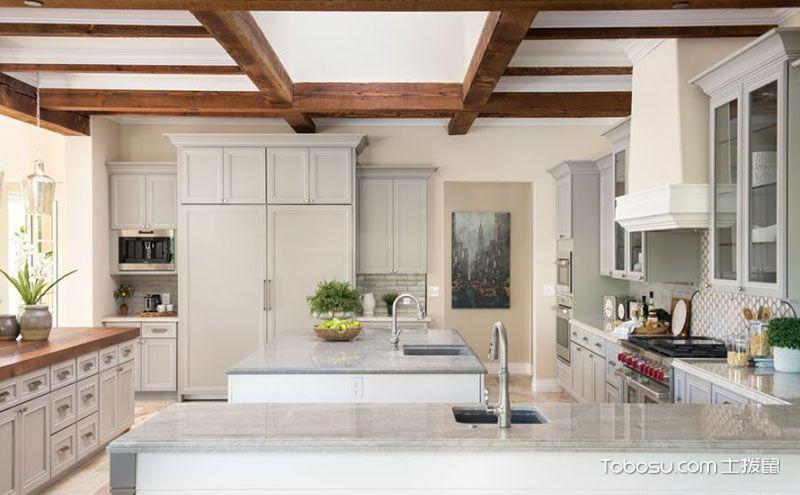 """厨房吊顶设计方案,看不一样的""""天空"""""""