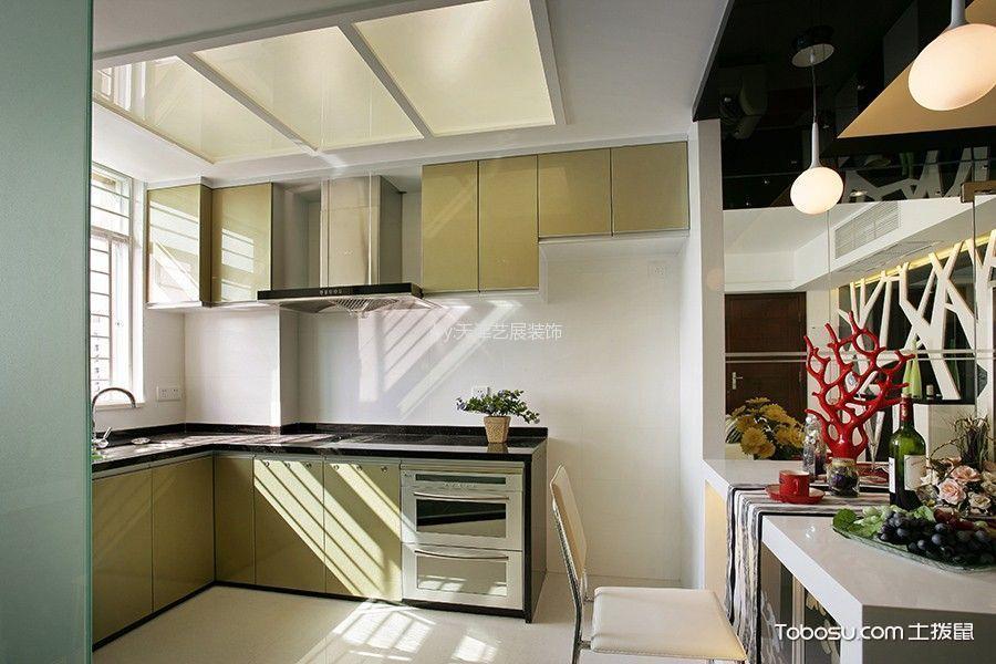 简约风格厨房吊顶效果图