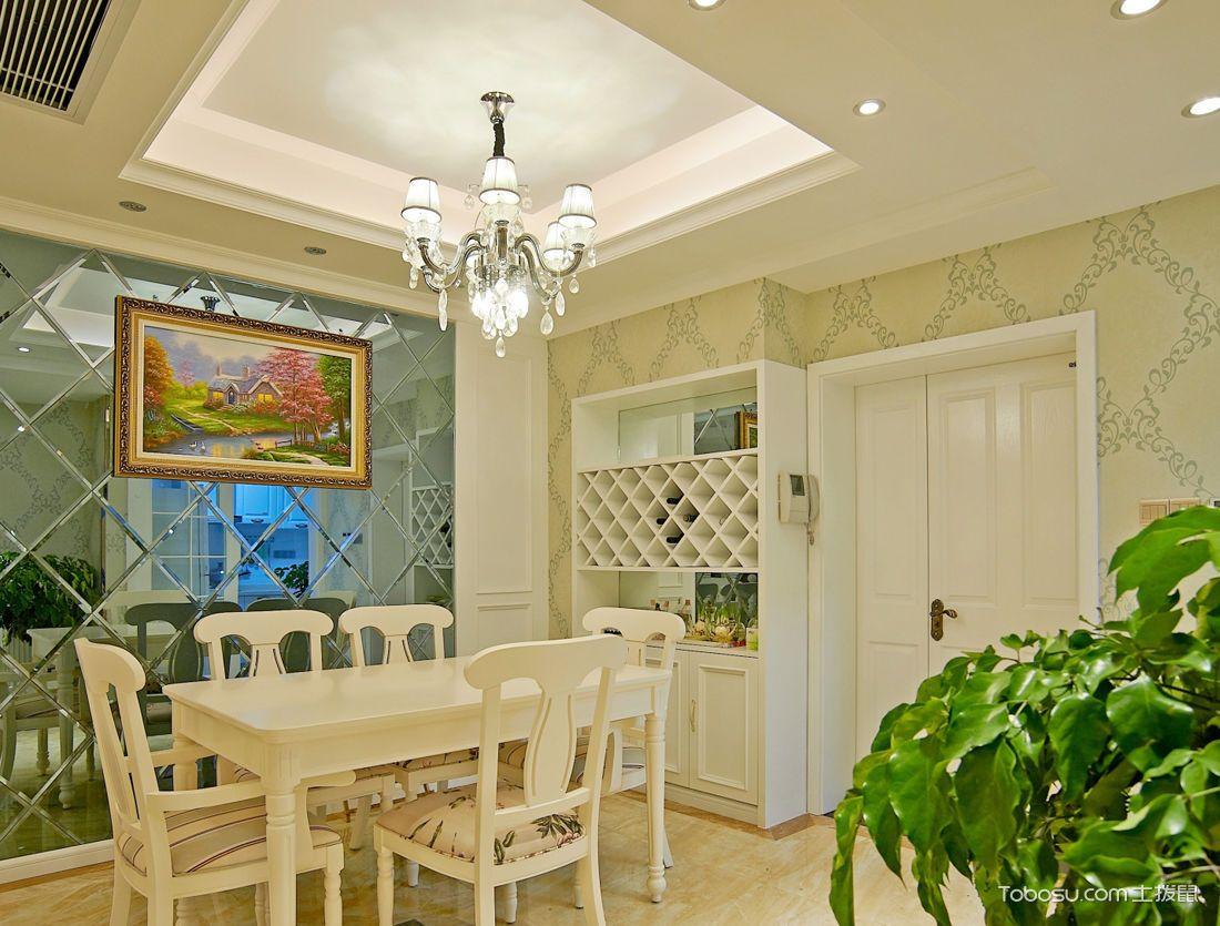 小户型餐厅白色家具