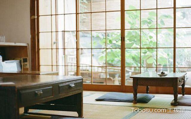 日式榻榻米房间效果图